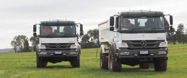 AFS Spreading trucks
